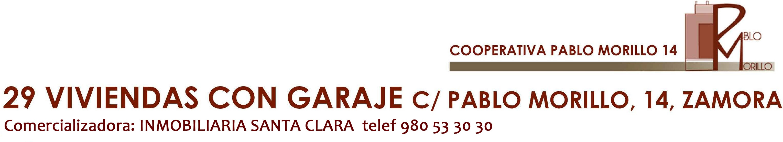 Cooperativa de viviendas de nueva constricción en el centro de Zamora